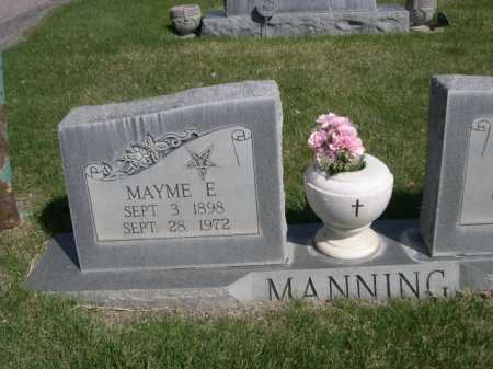MANNING, MAYME E. - Dawes County, Nebraska | MAYME E. MANNING - Nebraska Gravestone Photos