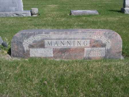 MANNING, MAGDALINE M. - Dawes County, Nebraska | MAGDALINE M. MANNING - Nebraska Gravestone Photos