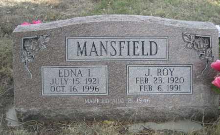 MANSFIELD, J. ROY - Dawes County, Nebraska | J. ROY MANSFIELD - Nebraska Gravestone Photos
