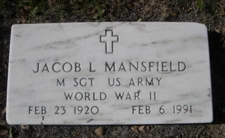 MANSFIELD, JACOB L. - Dawes County, Nebraska   JACOB L. MANSFIELD - Nebraska Gravestone Photos