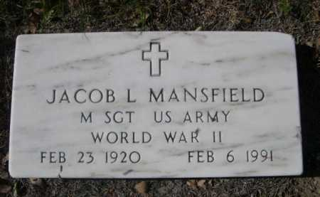 MANSFIELD, JACOB L. - Dawes County, Nebraska | JACOB L. MANSFIELD - Nebraska Gravestone Photos