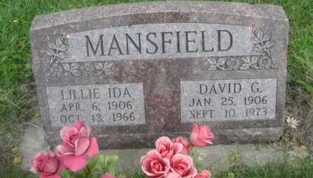 MANSFIELD, LILLIE IDA - Dawes County, Nebraska | LILLIE IDA MANSFIELD - Nebraska Gravestone Photos
