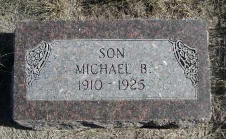 MANSFIELD, MICHAEL B. - Dawes County, Nebraska | MICHAEL B. MANSFIELD - Nebraska Gravestone Photos
