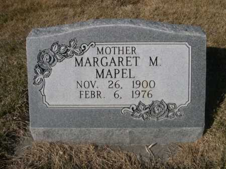 MAPEL, MARGARET M. - Dawes County, Nebraska   MARGARET M. MAPEL - Nebraska Gravestone Photos