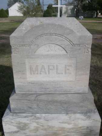 MAPLE, FAMILY - Dawes County, Nebraska | FAMILY MAPLE - Nebraska Gravestone Photos