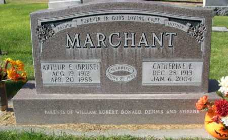 MARCHANT, CATHERINE E. - Dawes County, Nebraska | CATHERINE E. MARCHANT - Nebraska Gravestone Photos
