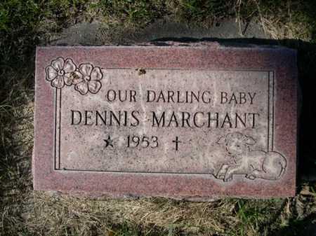 MARCHANT, DENNIS - Dawes County, Nebraska   DENNIS MARCHANT - Nebraska Gravestone Photos