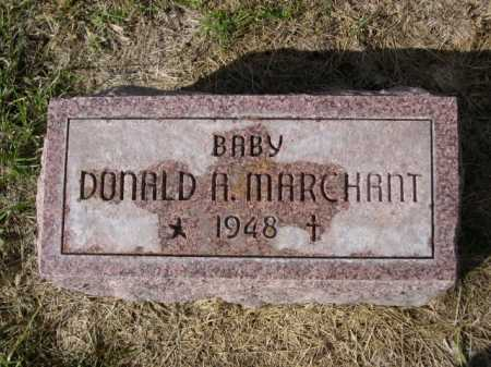 MARCHANT, DONALD A - Dawes County, Nebraska | DONALD A MARCHANT - Nebraska Gravestone Photos