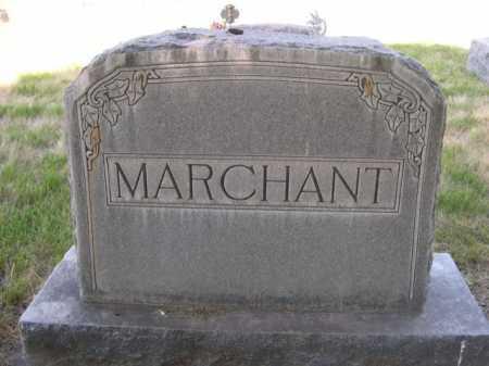 MARCHANT, FAMILLY - Dawes County, Nebraska   FAMILLY MARCHANT - Nebraska Gravestone Photos