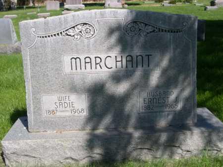 MARCHANT, ERNEST J. - Dawes County, Nebraska | ERNEST J. MARCHANT - Nebraska Gravestone Photos