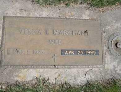 MARCHANT, VERNA L. - Dawes County, Nebraska | VERNA L. MARCHANT - Nebraska Gravestone Photos