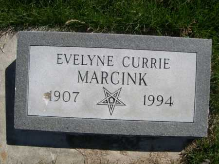 MARCINK, EVELYNE CURRIE - Dawes County, Nebraska | EVELYNE CURRIE MARCINK - Nebraska Gravestone Photos