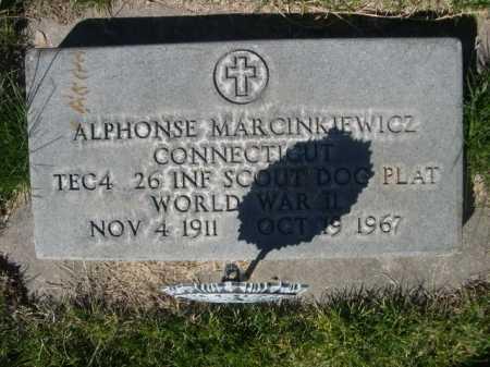 MARCINKIEWICZ, ALPHONSE - Dawes County, Nebraska   ALPHONSE MARCINKIEWICZ - Nebraska Gravestone Photos