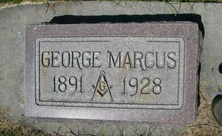 MARCUS, GEORGE - Dawes County, Nebraska | GEORGE MARCUS - Nebraska Gravestone Photos