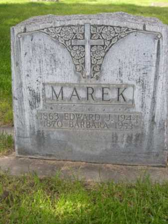 MAREK, BARBARA - Dawes County, Nebraska | BARBARA MAREK - Nebraska Gravestone Photos