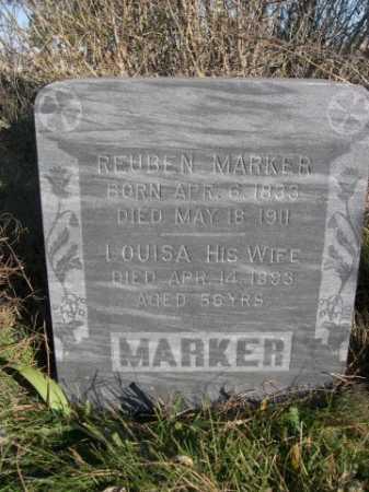MARKER, LOUISA - Dawes County, Nebraska | LOUISA MARKER - Nebraska Gravestone Photos