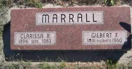 MARRALL, GILBERT F. - Dawes County, Nebraska | GILBERT F. MARRALL - Nebraska Gravestone Photos