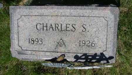 MARRIOTT, CHARLES S. - Dawes County, Nebraska | CHARLES S. MARRIOTT - Nebraska Gravestone Photos
