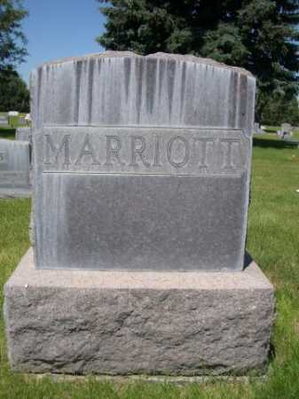 MARRIOTT, FAMILY - Dawes County, Nebraska | FAMILY MARRIOTT - Nebraska Gravestone Photos