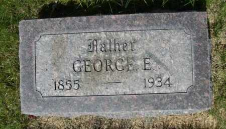 MARRIOTT, GEORGE E. - Dawes County, Nebraska   GEORGE E. MARRIOTT - Nebraska Gravestone Photos