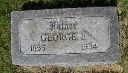 MARRIOTT, GEORGE E. - Dawes County, Nebraska | GEORGE E. MARRIOTT - Nebraska Gravestone Photos