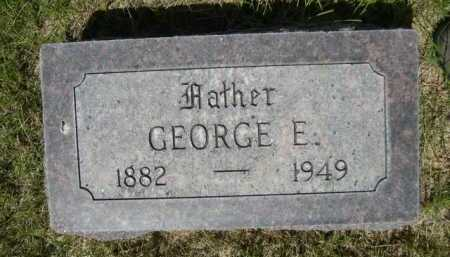 MARRIOTT, GEORGE E. - Dawes County, Nebraska | GEORGE E. MARRIOTT - Nebraska Gravestone Photos