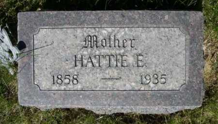 MARRIOTT, HATTIE E. - Dawes County, Nebraska | HATTIE E. MARRIOTT - Nebraska Gravestone Photos