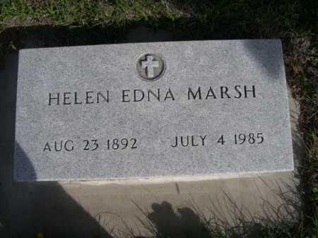 MARSH, HELEN EDNA - Dawes County, Nebraska | HELEN EDNA MARSH - Nebraska Gravestone Photos