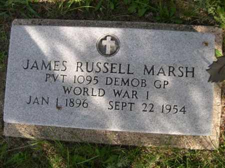 MARSH, JAMES RUSSELL - Dawes County, Nebraska | JAMES RUSSELL MARSH - Nebraska Gravestone Photos