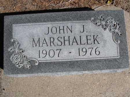 MARSHALEK, JOHN J. - Dawes County, Nebraska   JOHN J. MARSHALEK - Nebraska Gravestone Photos