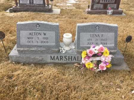 MARSHALL, LENA F. - Dawes County, Nebraska | LENA F. MARSHALL - Nebraska Gravestone Photos