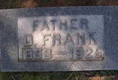 MARSHALL, D. FRANK - Dawes County, Nebraska | D. FRANK MARSHALL - Nebraska Gravestone Photos