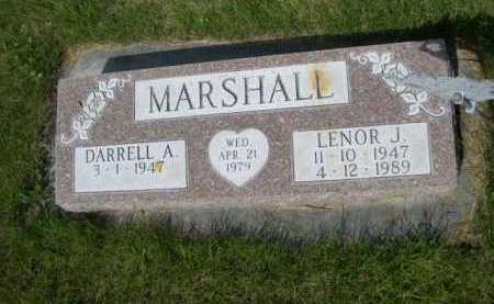 MARSHALL, DARRELL A. - Dawes County, Nebraska | DARRELL A. MARSHALL - Nebraska Gravestone Photos