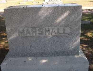 MARSHALL, FAMILY - Dawes County, Nebraska | FAMILY MARSHALL - Nebraska Gravestone Photos
