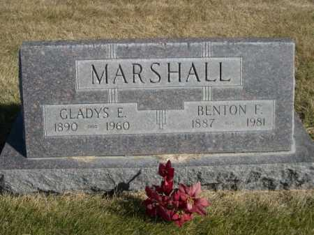 MARSHALL, GLADYS E. - Dawes County, Nebraska | GLADYS E. MARSHALL - Nebraska Gravestone Photos