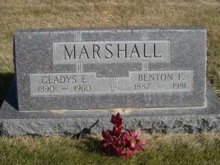 MARSHALL, BENTON F. - Dawes County, Nebraska | BENTON F. MARSHALL - Nebraska Gravestone Photos
