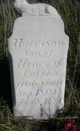 MARSHALL, HARRISON - Dawes County, Nebraska   HARRISON MARSHALL - Nebraska Gravestone Photos