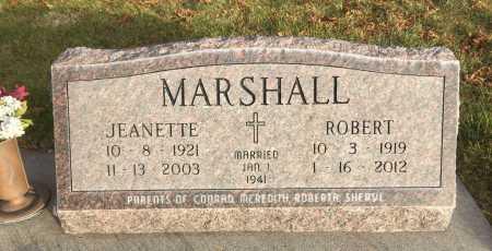 MARSHALL, JEANETTE - Dawes County, Nebraska | JEANETTE MARSHALL - Nebraska Gravestone Photos
