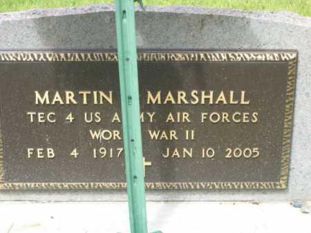 MARSHALL, MARTIN - Dawes County, Nebraska   MARTIN MARSHALL - Nebraska Gravestone Photos