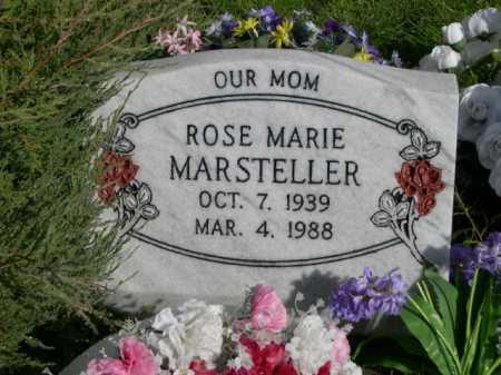 MARSTELLER, ROSE MARIE - Dawes County, Nebraska | ROSE MARIE MARSTELLER - Nebraska Gravestone Photos