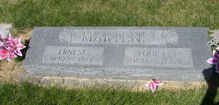 MARTENS, ERNEST - Dawes County, Nebraska | ERNEST MARTENS - Nebraska Gravestone Photos