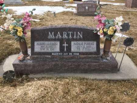 MARTIN, ALBERT LUEVANO - Dawes County, Nebraska | ALBERT LUEVANO MARTIN - Nebraska Gravestone Photos