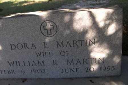 MARTIN, DORA E. - Dawes County, Nebraska | DORA E. MARTIN - Nebraska Gravestone Photos