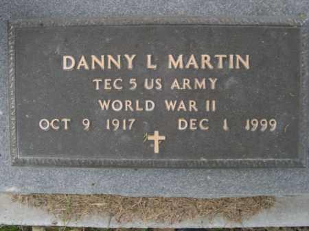 MARTIN, DANNY L - Dawes County, Nebraska | DANNY L MARTIN - Nebraska Gravestone Photos