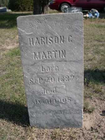 MARTIN, HARISON C. - Dawes County, Nebraska | HARISON C. MARTIN - Nebraska Gravestone Photos