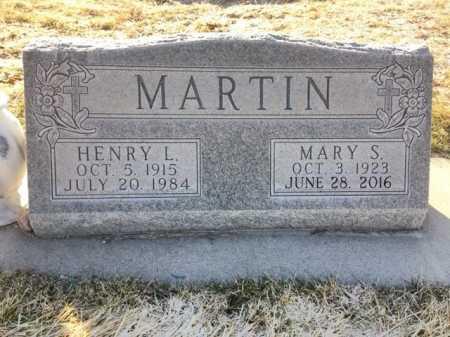 MARTIN, MARY S. - Dawes County, Nebraska | MARY S. MARTIN - Nebraska Gravestone Photos
