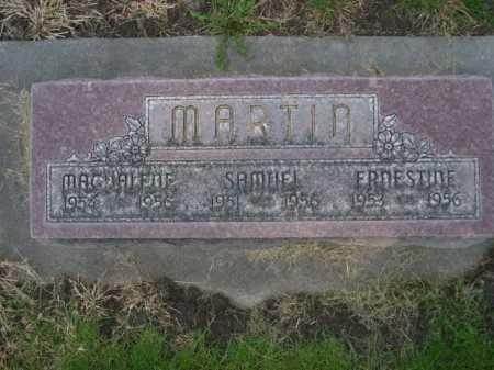 MARTIN, ERNESTINE - Dawes County, Nebraska | ERNESTINE MARTIN - Nebraska Gravestone Photos