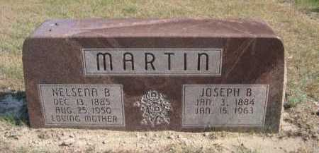 MARTIN, NELSENA B. - Dawes County, Nebraska | NELSENA B. MARTIN - Nebraska Gravestone Photos