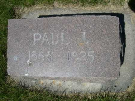 MARTIN, PAUL J. - Dawes County, Nebraska | PAUL J. MARTIN - Nebraska Gravestone Photos