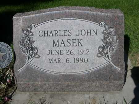 MASEK, CHARLES JOHN - Dawes County, Nebraska | CHARLES JOHN MASEK - Nebraska Gravestone Photos